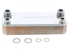 vaillant 064946 dhw heat exchanger brand new and original