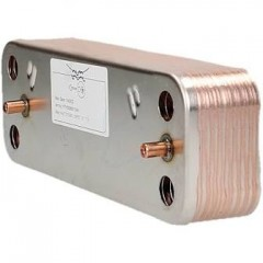 baxi 248048 - heat exchanger dhw - 16 plate p