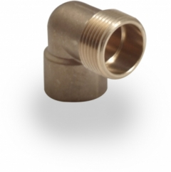 end feed male iron elbow 15mm 22mm 28mm wras approved