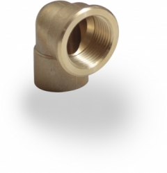 end feed female iron elbow 15mm 22mm 28mm wras approved